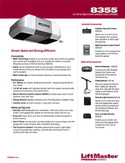 Liftmaster Premium Series Model 8355 Saugus Overhead Door