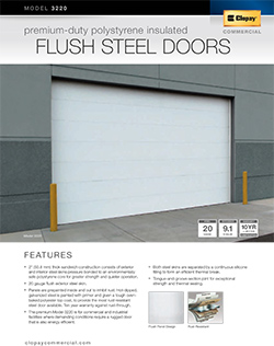 Clopay Energy Series Polystyrene Insulated Doors Saugus