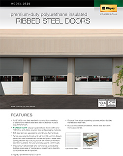 Clopay Intellicore Insulated Doors 3700 Series Saugus