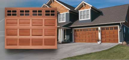 Clopay Classic Wood Collection Saugus Overhead Door
