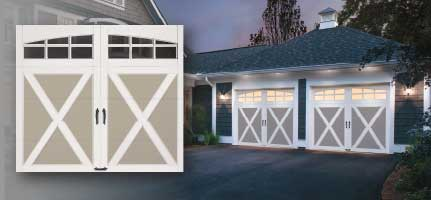 Clopay Coachman Collection Saugus Overhead Door